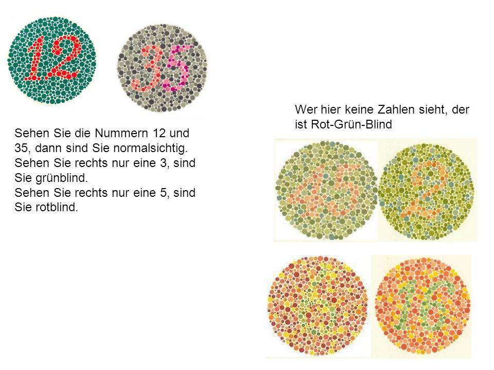 Wer hier keine Zahlen sieht, der ist Rot-Grün-Blind
