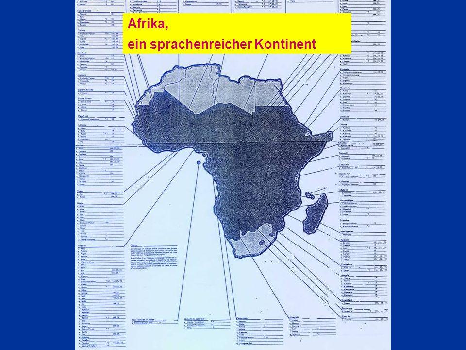 ein sprachenreicher Kontinent