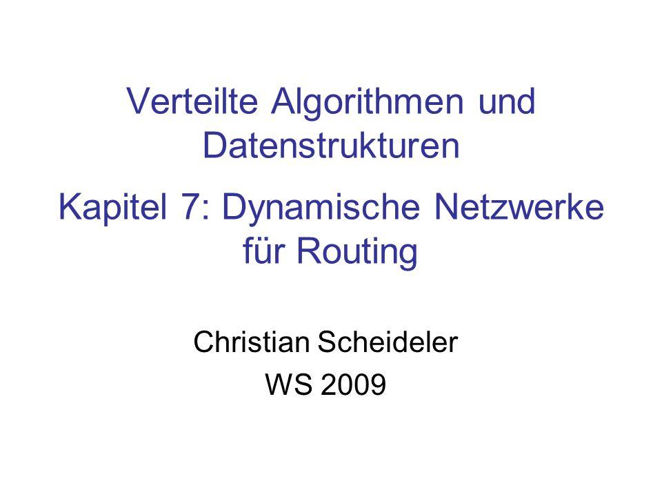 Christian Scheideler WS 2009