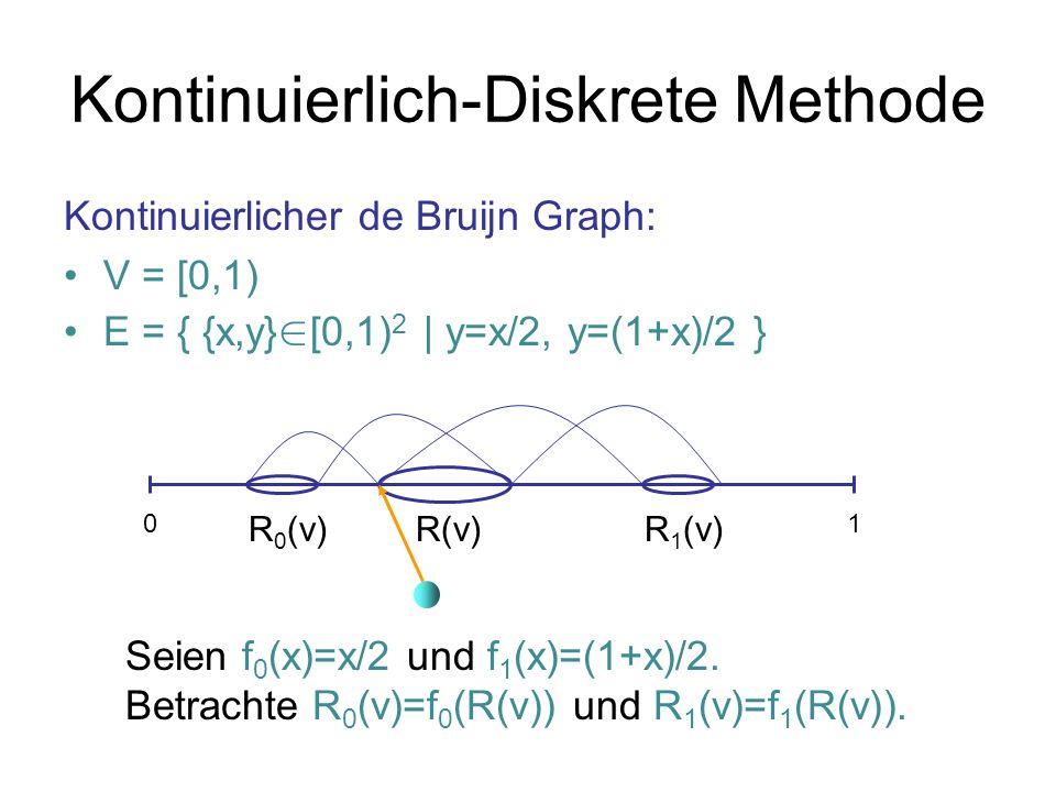 Kontinuierlich-Diskrete Methode
