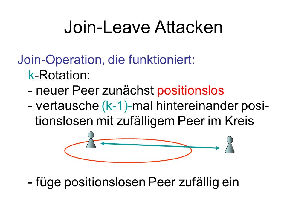 Join-Leave Attacken