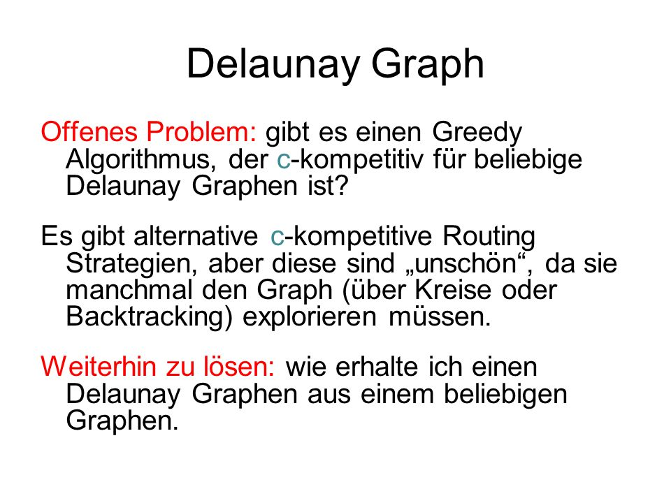 Delaunay Graph