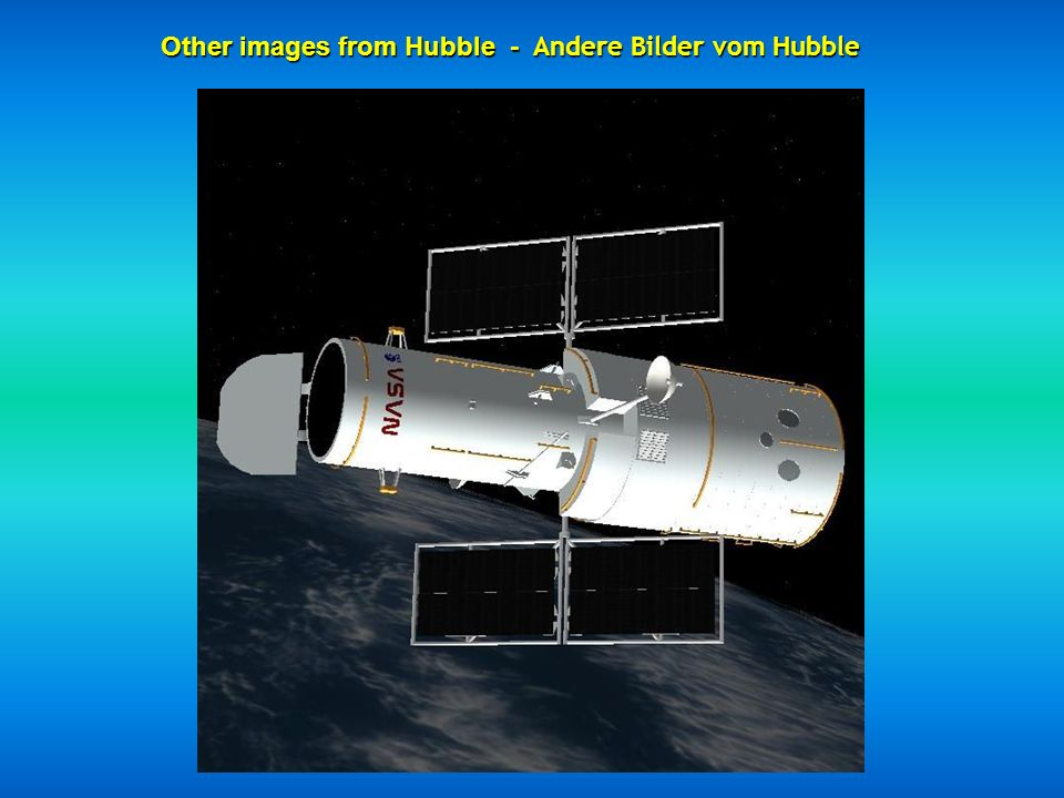 Other images from Hubble - Andere Bilder vom Hubble