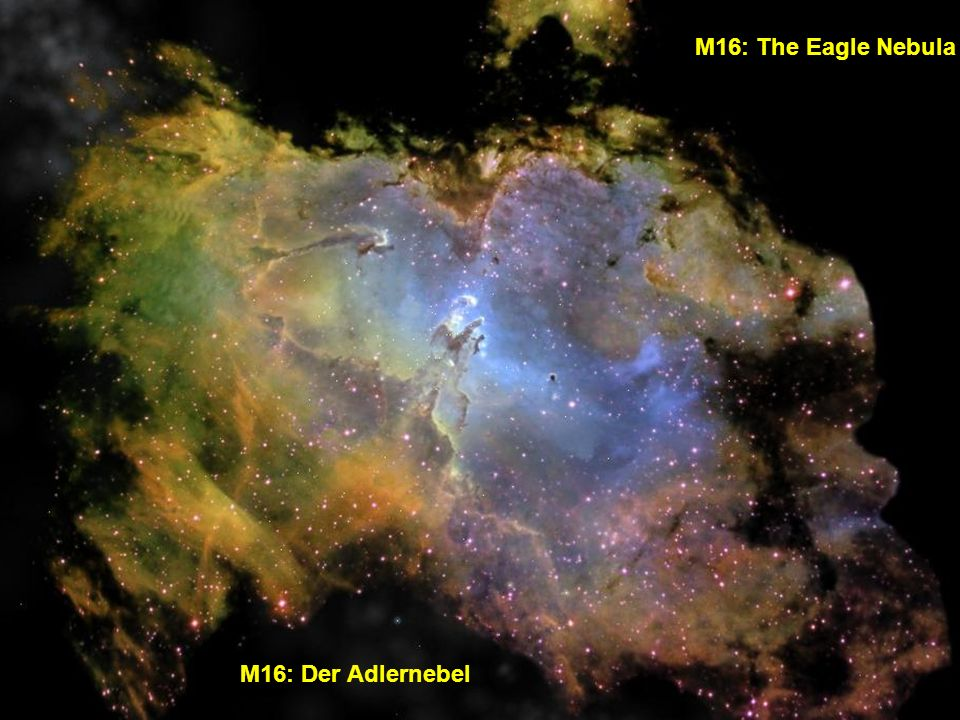 M16: The Eagle Nebula M16: Der Adlernebel