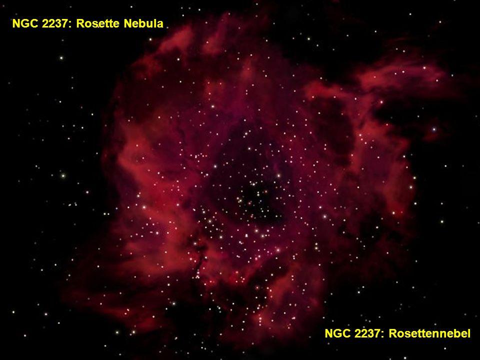 NGC 2237: Rosette Nebula NGC 2237: Rosettennebel