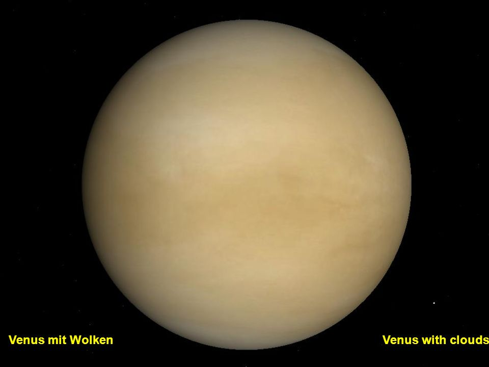 Venus mit Wolken Venus with clouds
