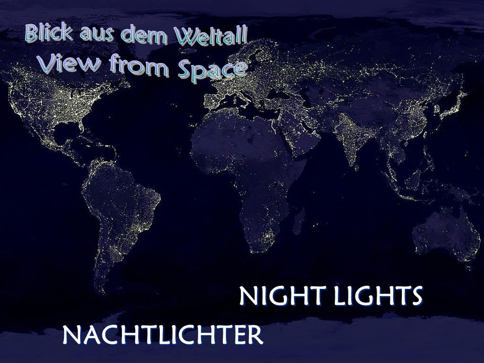 NIGHT LIGHTS NACHTLICHTER