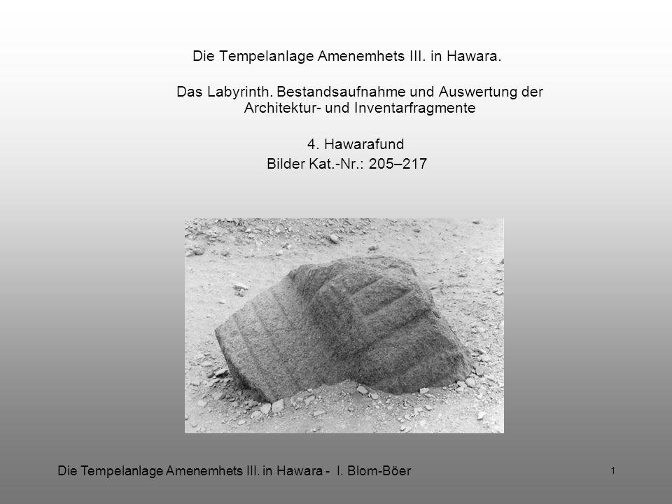 Die Tempelanlage Amenemhets III. in Hawara.