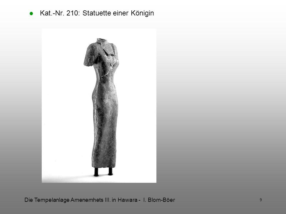 Kat.-Nr. 210: Statuette einer Königin