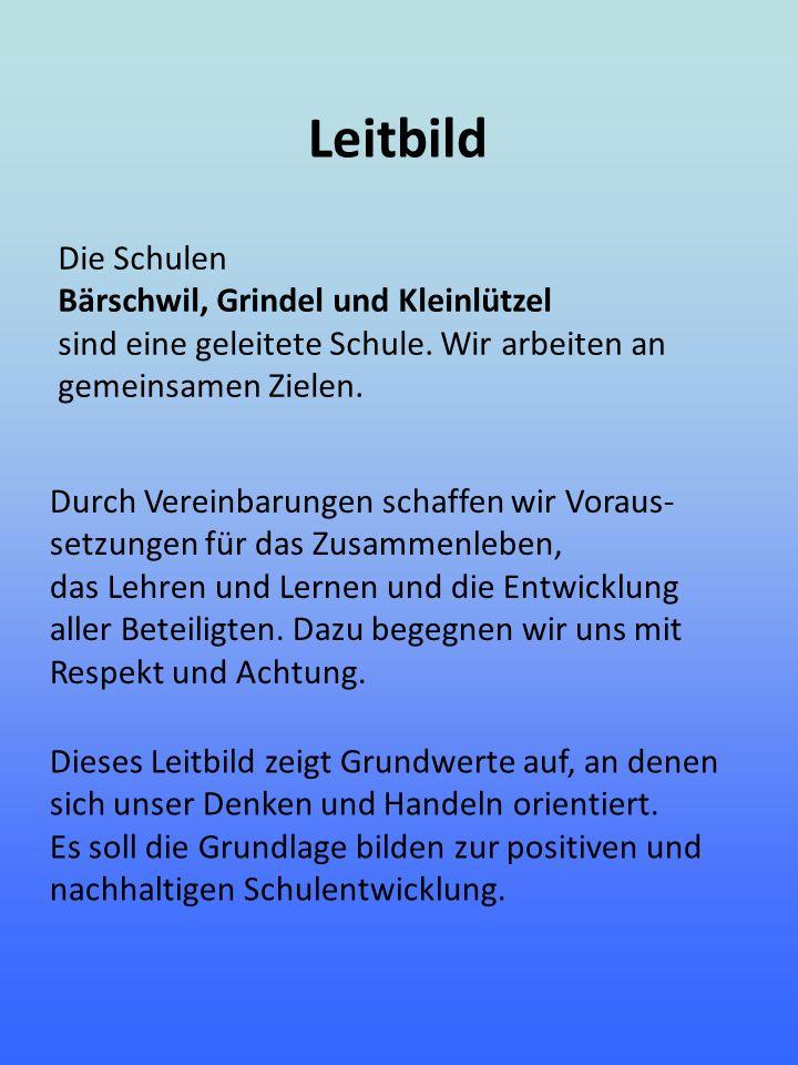 Leitbild Die Schulen Bärschwil, Grindel und Kleinlützel