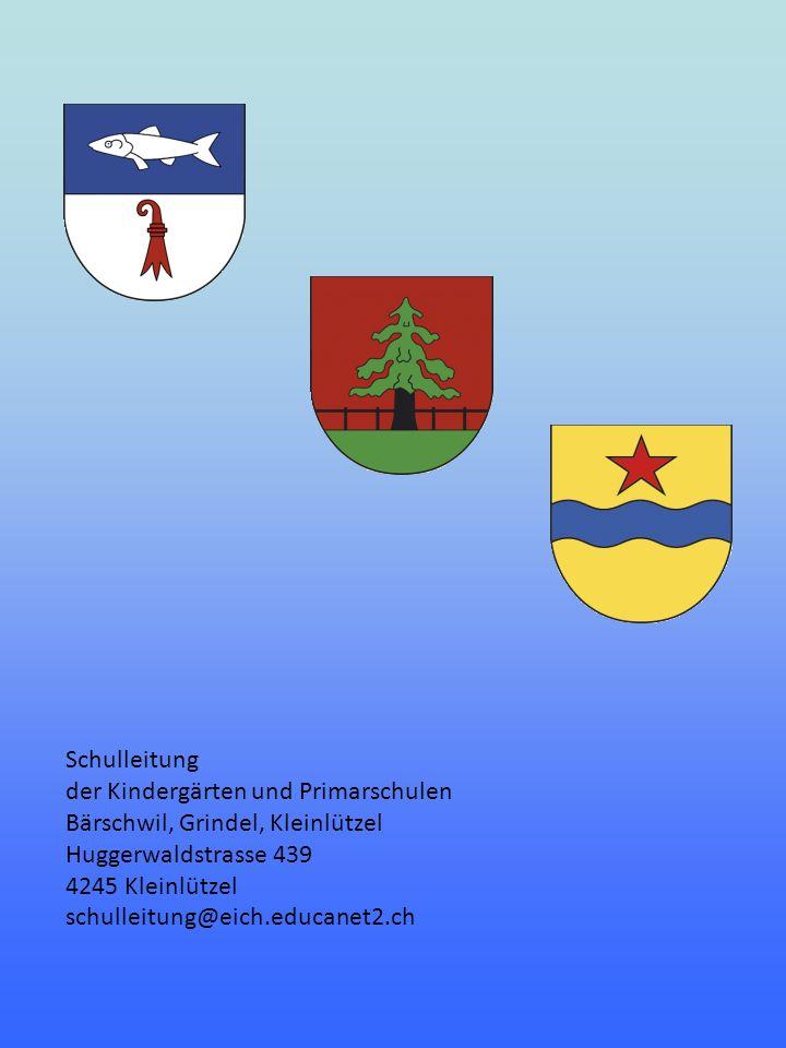 Schulleitung der Kindergärten und Primarschulen. Bärschwil, Grindel, Kleinlützel. Huggerwaldstrasse 439.