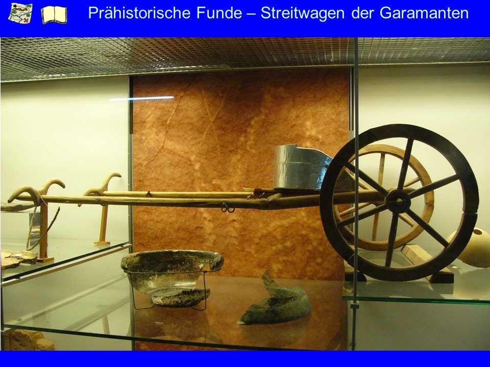 Prähistorische Funde – Streitwagen der Garamanten