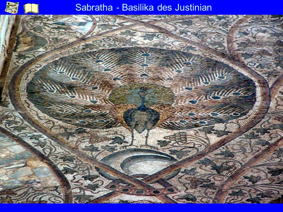 Sabratha - Basilika des Justinian