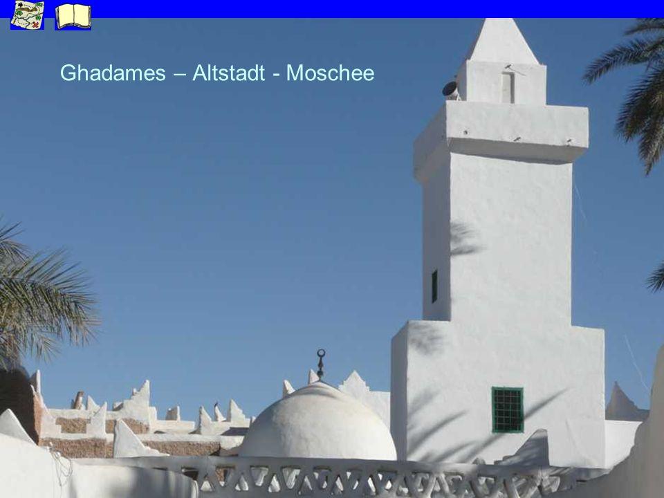 Ghadames – Altstadt - Moschee