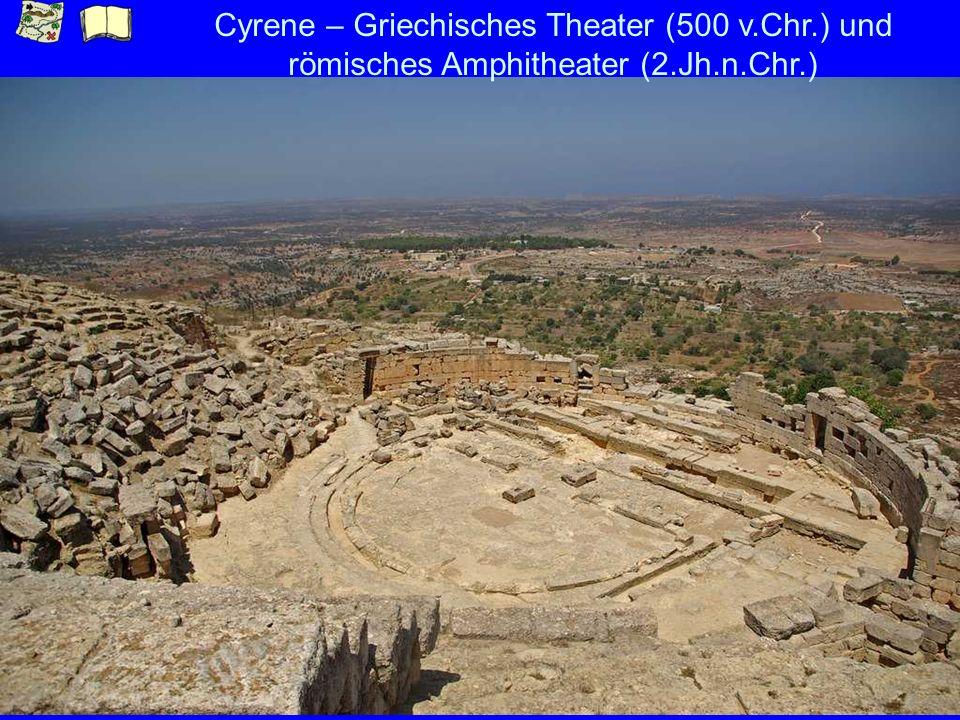 Cyrene – Griechisches Theater (500 v. Chr