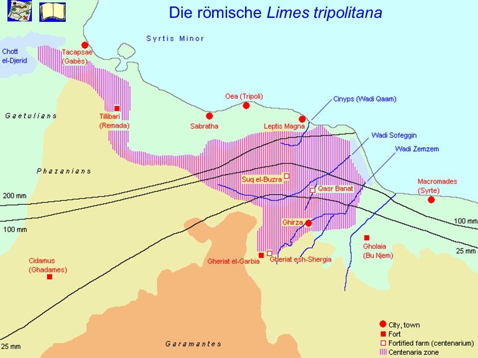 Die römische Limes tripolitana