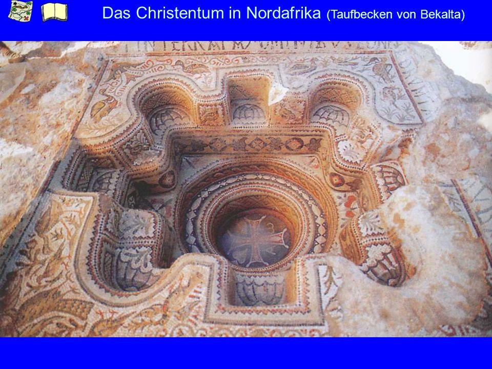 Das Christentum in Nordafrika (Taufbecken von Bekalta)