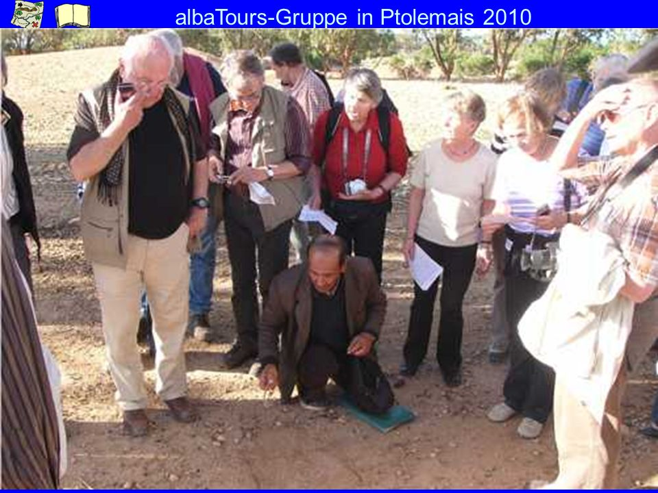 albaTours-Gruppe in Ptolemais 2010
