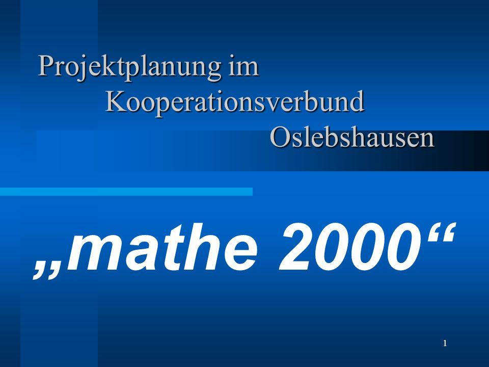 Projektplanung im Kooperationsverbund Oslebshausen