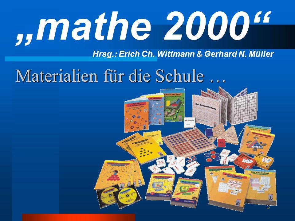 Materialien für die Schule …
