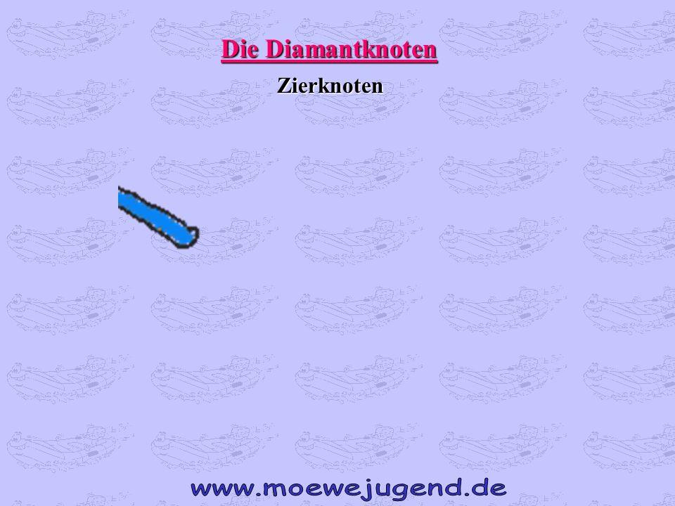 Die Diamantknoten Zierknoten www.moewejugend.de