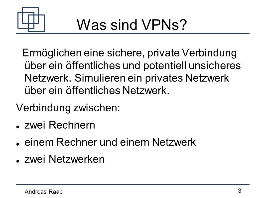 Was sind VPNs