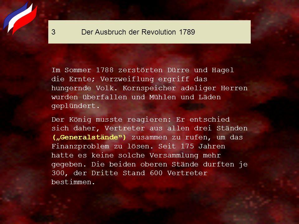 3 Der Ausbruch der Revolution 1789