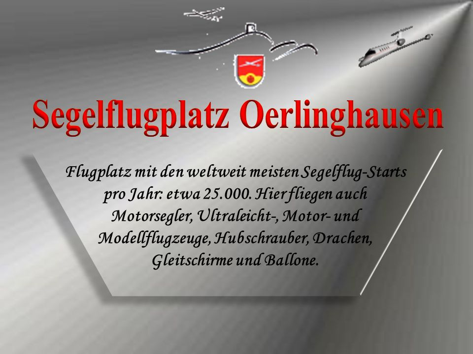 Segelflugplatz Oerlinghausen Segelflugplatz Oerlinghausen