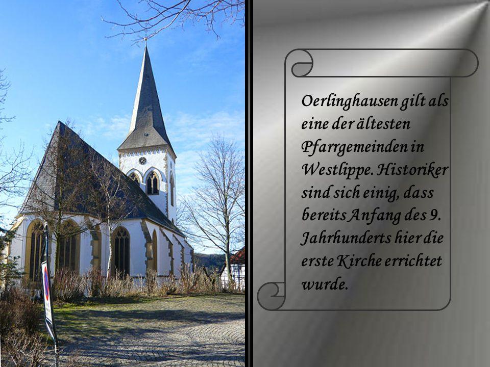 Oerlinghausen gilt als eine der ältesten Pfarrgemeinden in Westlippe