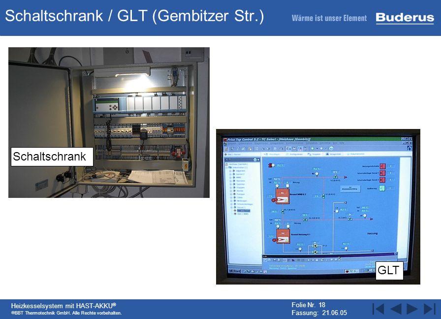 Schaltschrank / GLT (Gembitzer Str.)