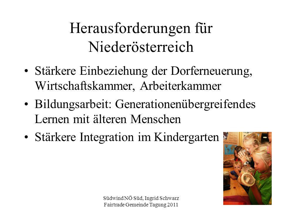 Herausforderungen für Niederösterreich