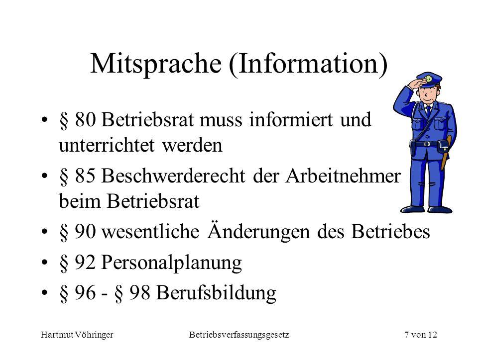 Mitsprache (Information)