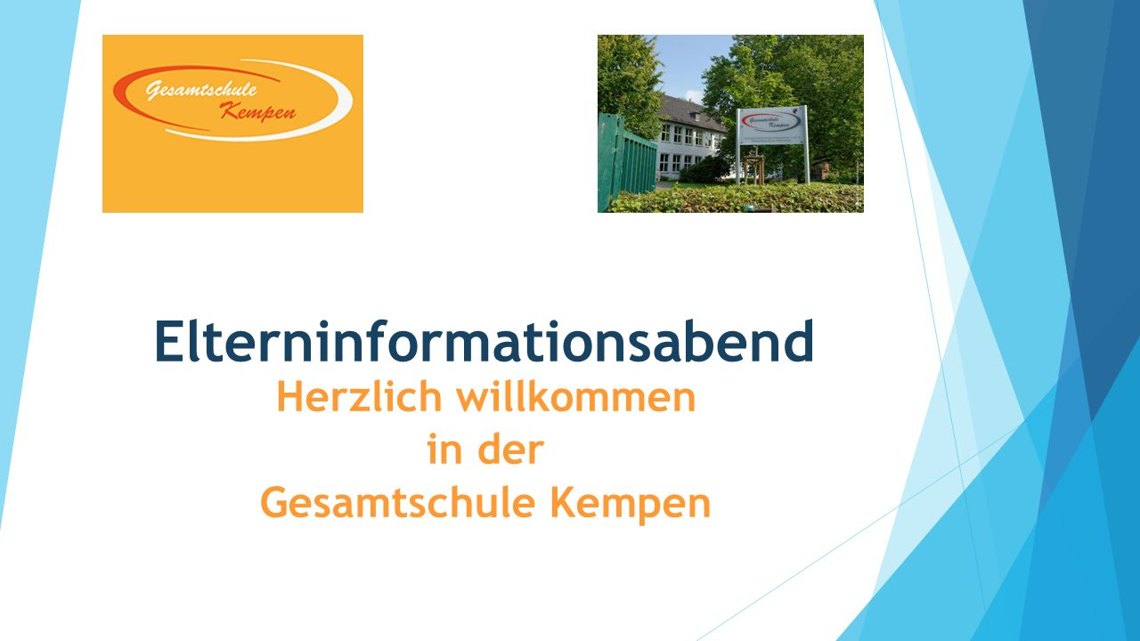 Elterninformationsabend