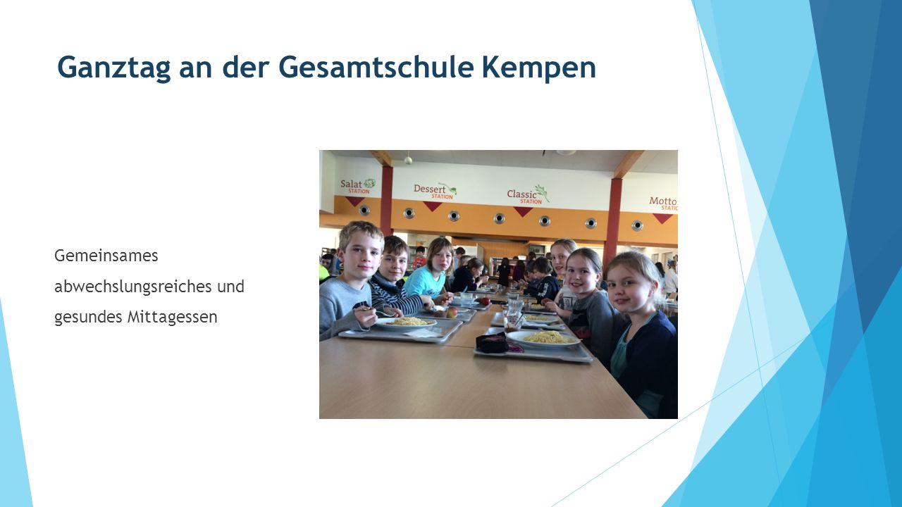 Ganztag an der Gesamtschule Kempen