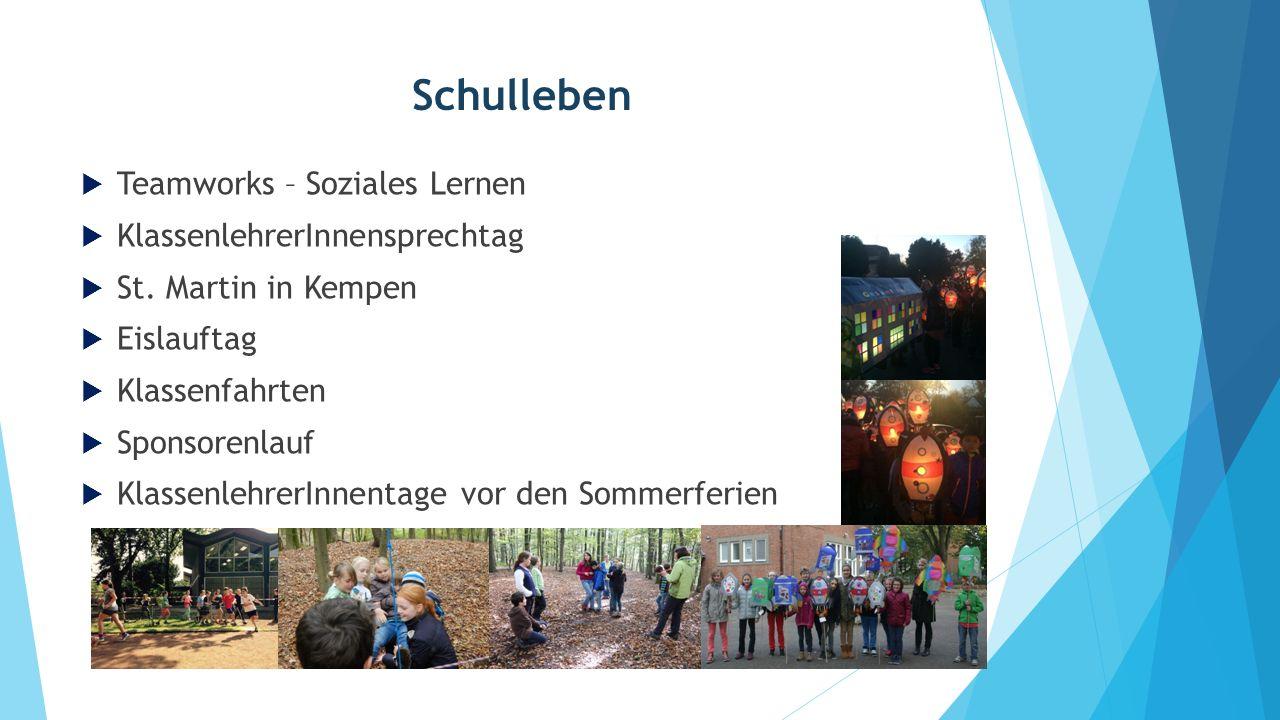 Schulleben Teamworks – Soziales Lernen KlassenlehrerInnensprechtag