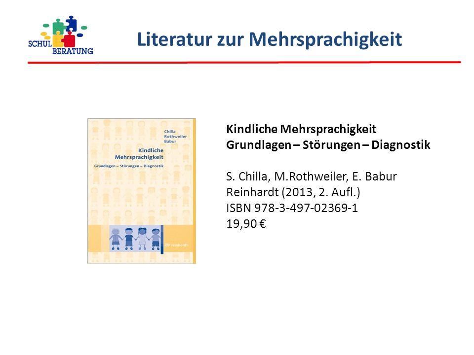 Literatur zur Mehrsprachigkeit