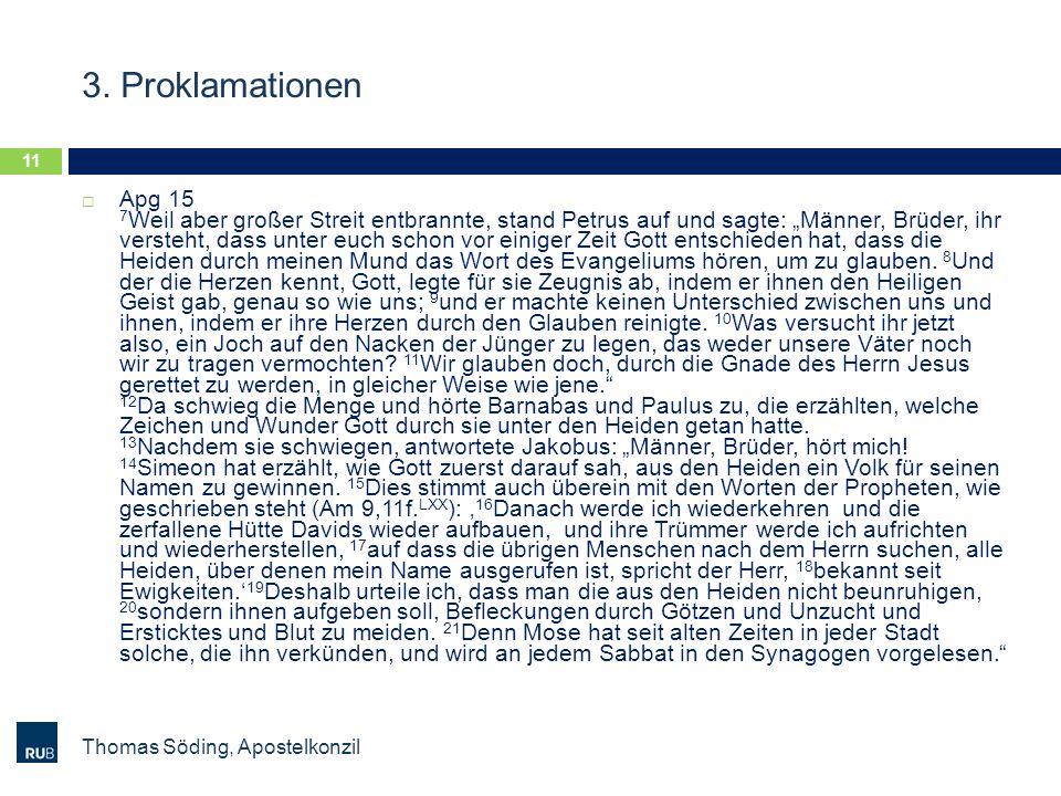 3. Proklamationen