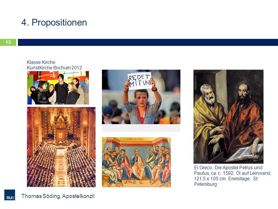 4. Propositionen Thomas Söding, Apostelkonzil