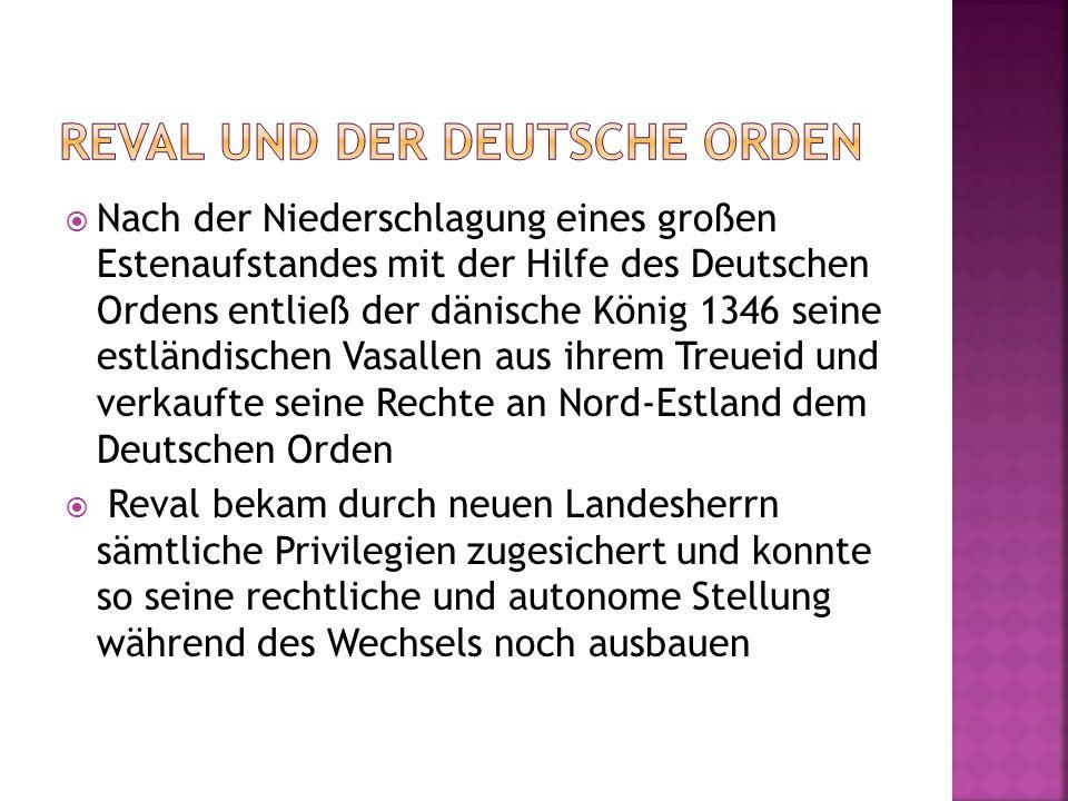 Reval und der deutsche orden