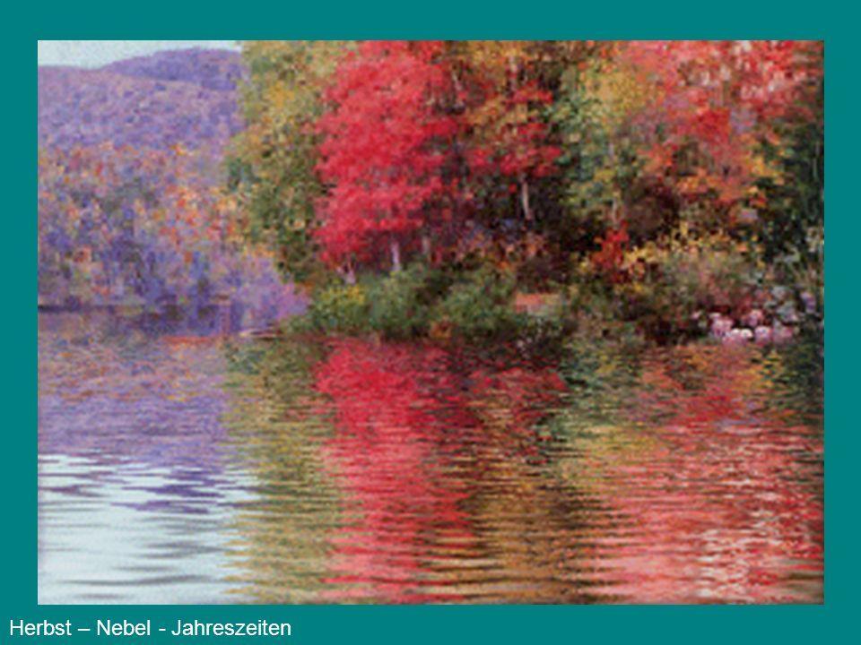 Herbst – Nebel - Jahreszeiten