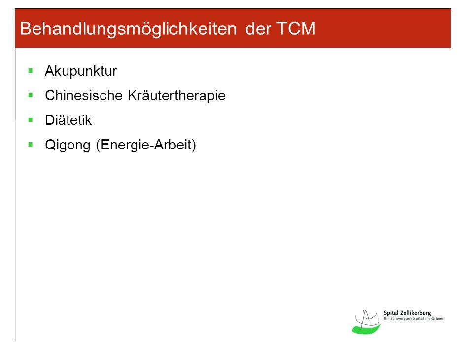 Behandlungsmöglichkeiten der TCM