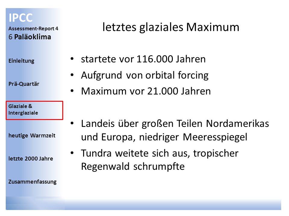 letztes glaziales Maximum