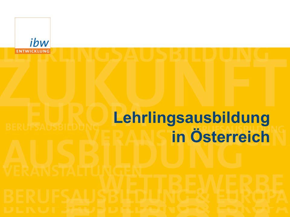 Lehrlingsausbildung in Österreich
