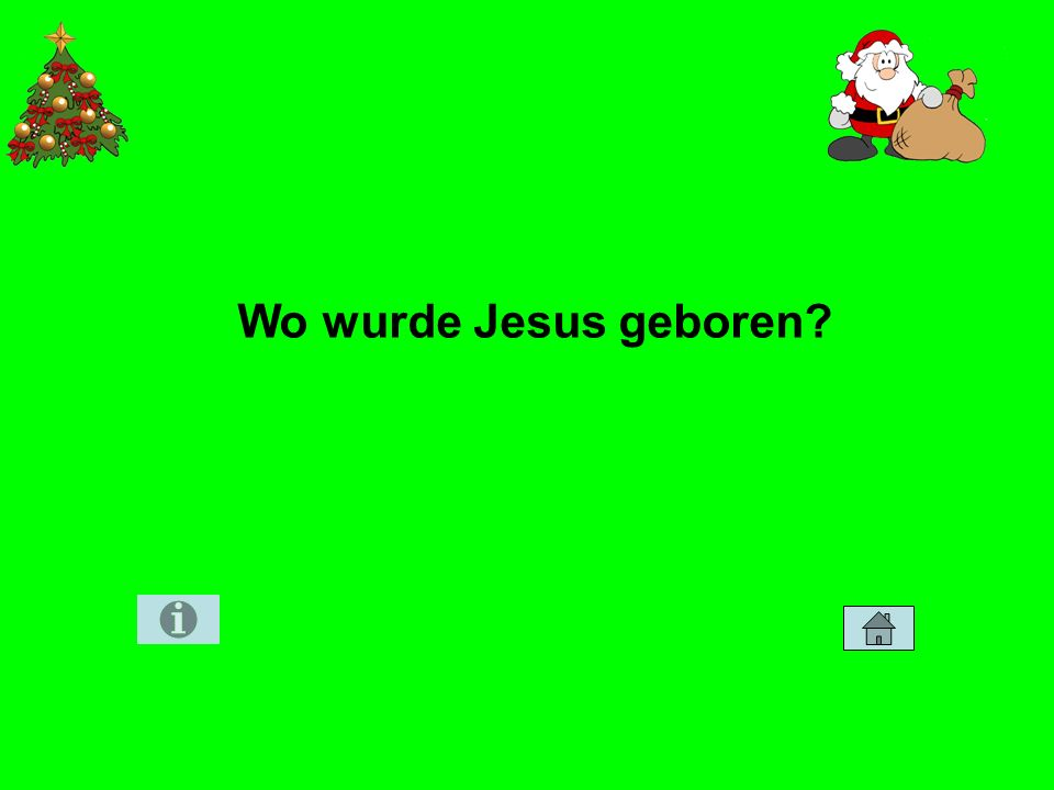 Wo wurde Jesus geboren