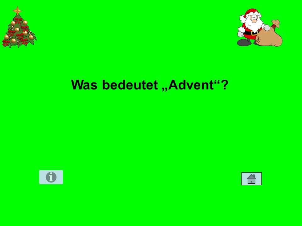 "Was bedeutet ""Advent"