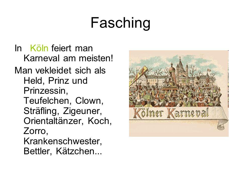 Fasching In Köln feiert man Karneval am meisten!