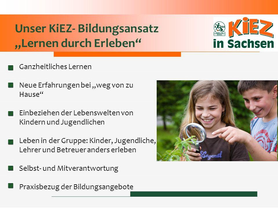 """Unser KiEZ- Bildungsansatz """"Lernen durch Erleben"""