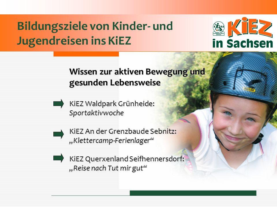 Bildungsziele von Kinder- und Jugendreisen ins KiEZ
