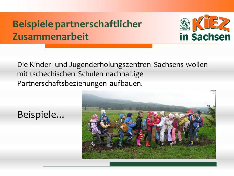 Beispiele partnerschaftlicher Zusammenarbeit