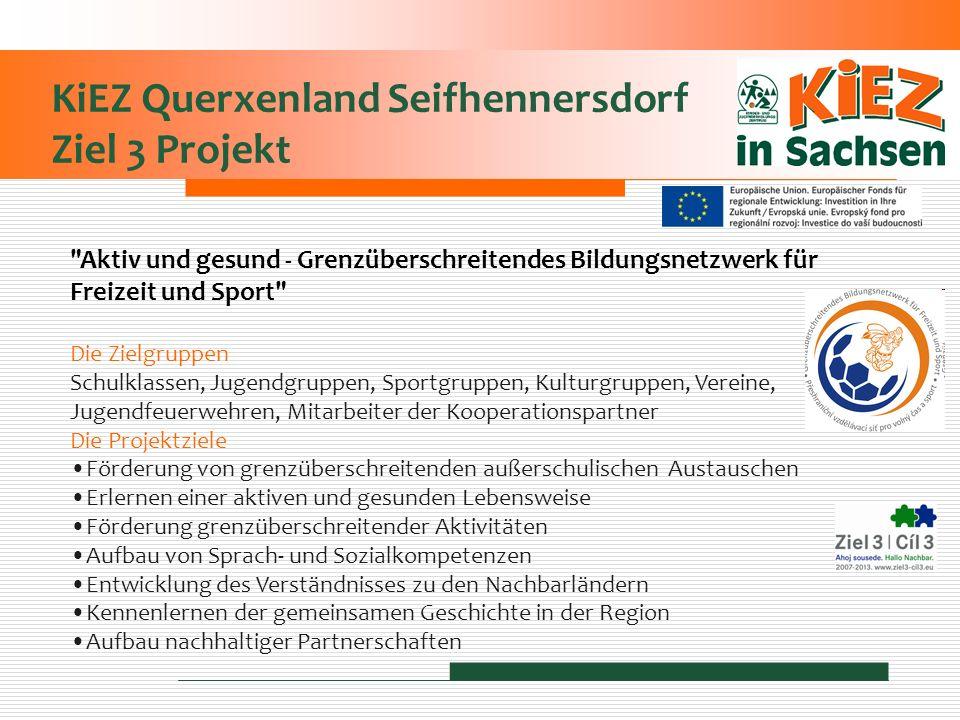 KiEZ Querxenland Seifhennersdorf Ziel 3 Projekt